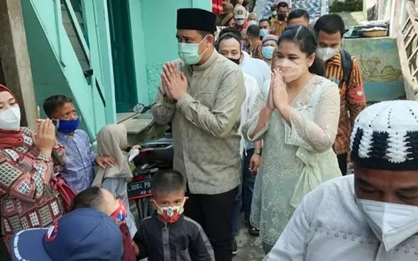 Wali Kota Medan Tinjau Warga Terdampak Banjir saat Idul Fitri