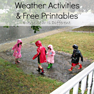 Weather activities and free printables.