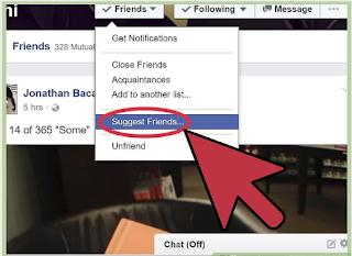 Suggesting Friends On Facebook Tutorial