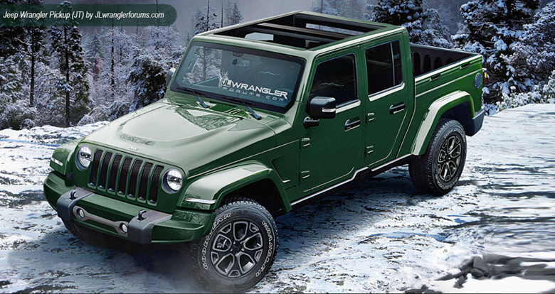 2019 Jeep Wrangler Unlimited Pickup Release Date And Price