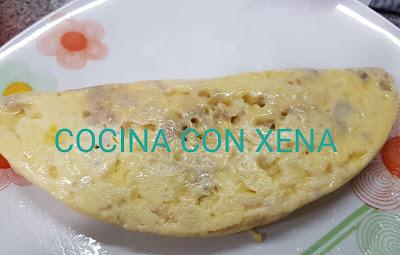 Tortilla De Atún, En Microondas Con Lékué Para Tortillas