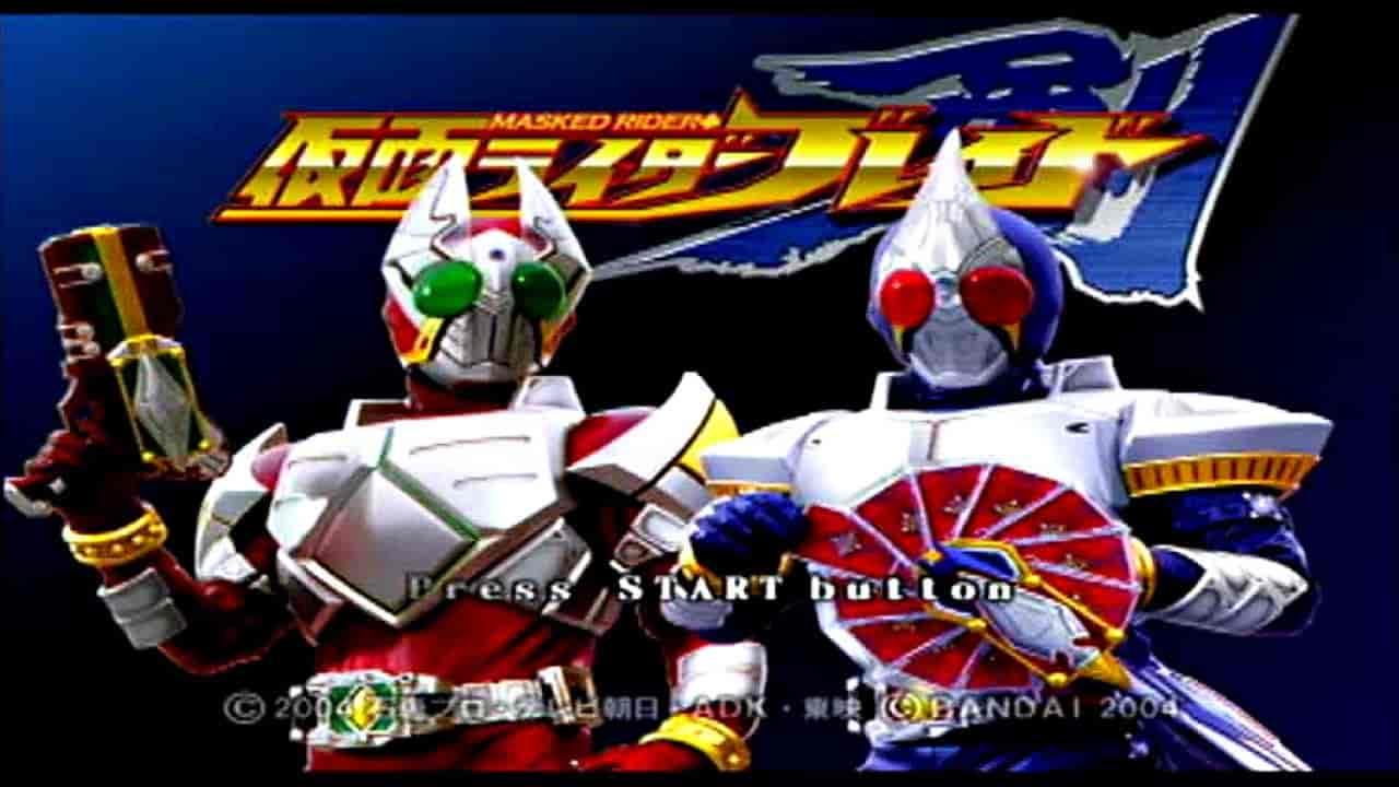 Kode Cheat Kamen Rider Blade PS2 1