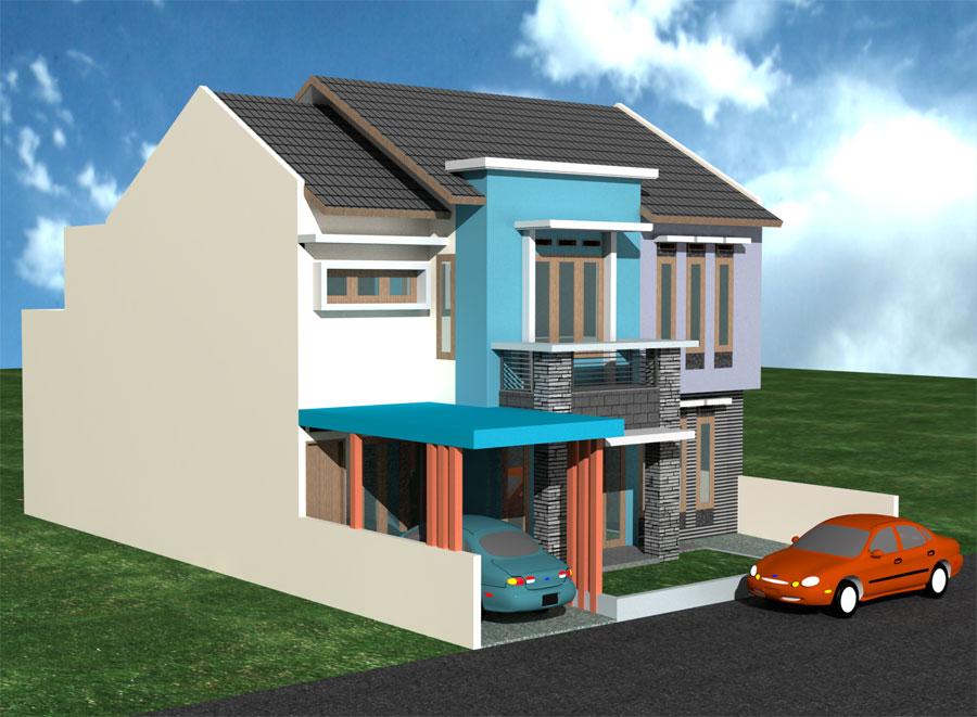 Kombinasi Cat Rumah Hijau Dan Abu Abu - Sekitar Rumah