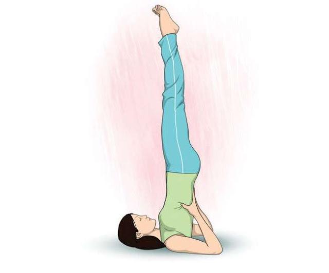 Explain the method of doing Sarvangasana and the benefits of Sarvangasana.