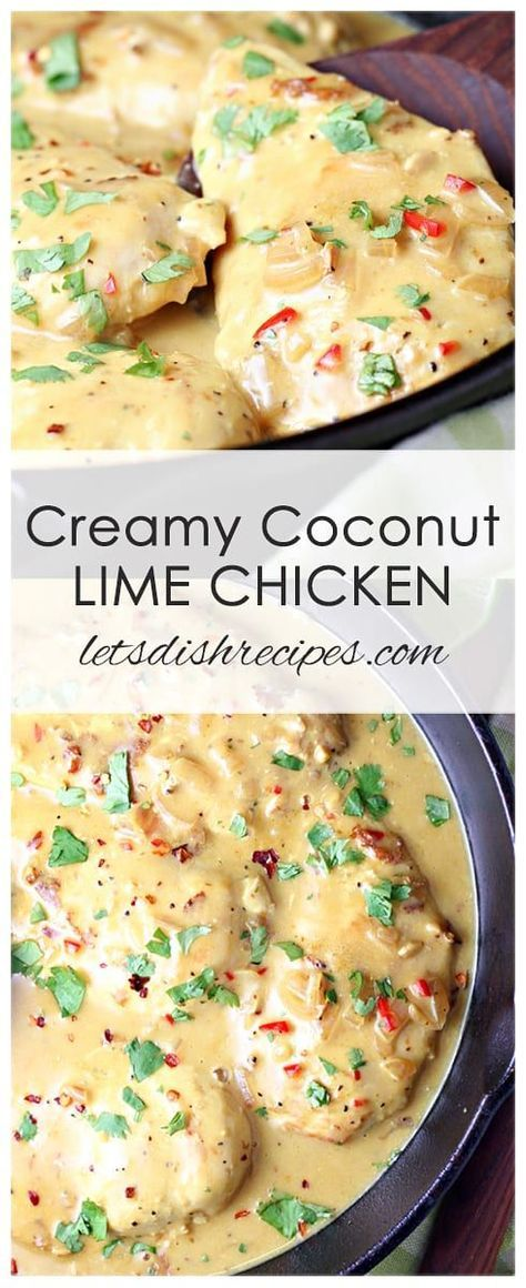 CREAMY COCONUT LIME CHICKEN