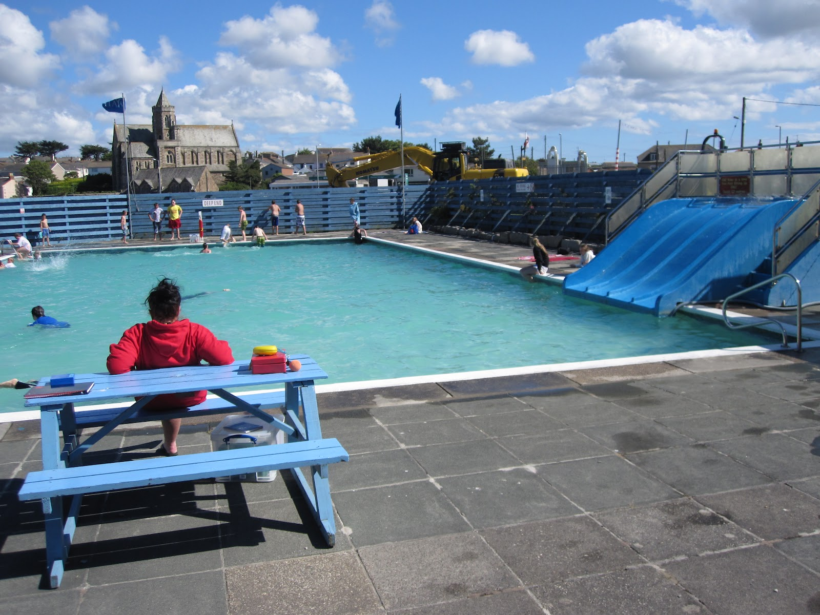 Graham coad 39 s hayle blog 2012 - The quays swimming pool timetable ...
