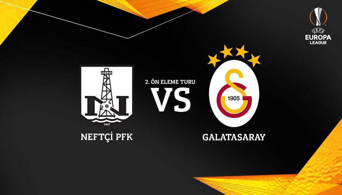 Galatasaray'ın rakibi Neftçi Bakü!