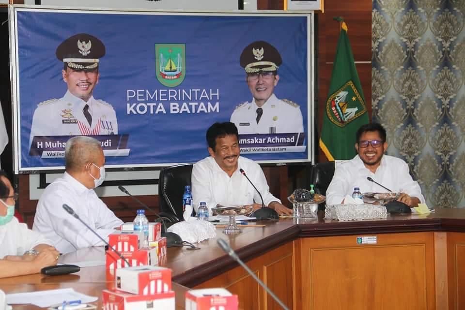 Dihadiri Ketua DPRD Kota Batam, Walikota Batam Membuka Kegiatan Rembuk Stunting Tingkat Kota Batam Tahun 2021