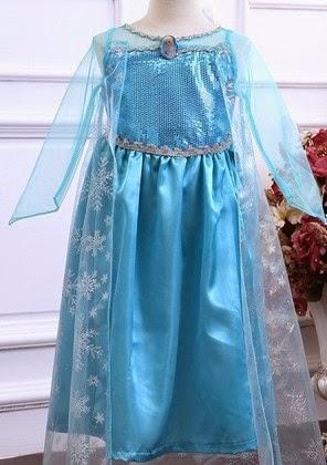Lily E Nina Chegaram Os Vestidos Da Princesa Elsa Do