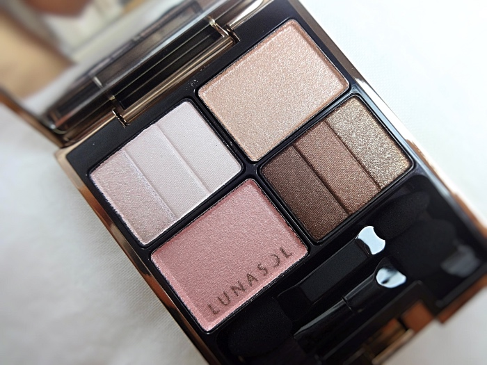 Lunasol Soft Beige review swatch