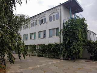 Мелітополь. Монастир Сави Освяченого. Адміністративний корпус, бібліотека