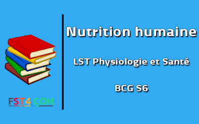Cours Nutrition humaine bcg s6 pdf
