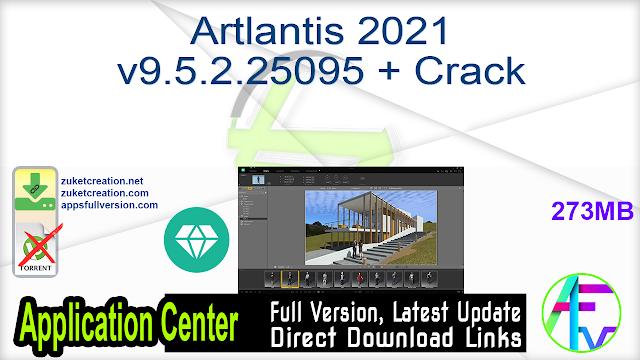 Artlantis 2021 v9.5.2.25095 + Crack