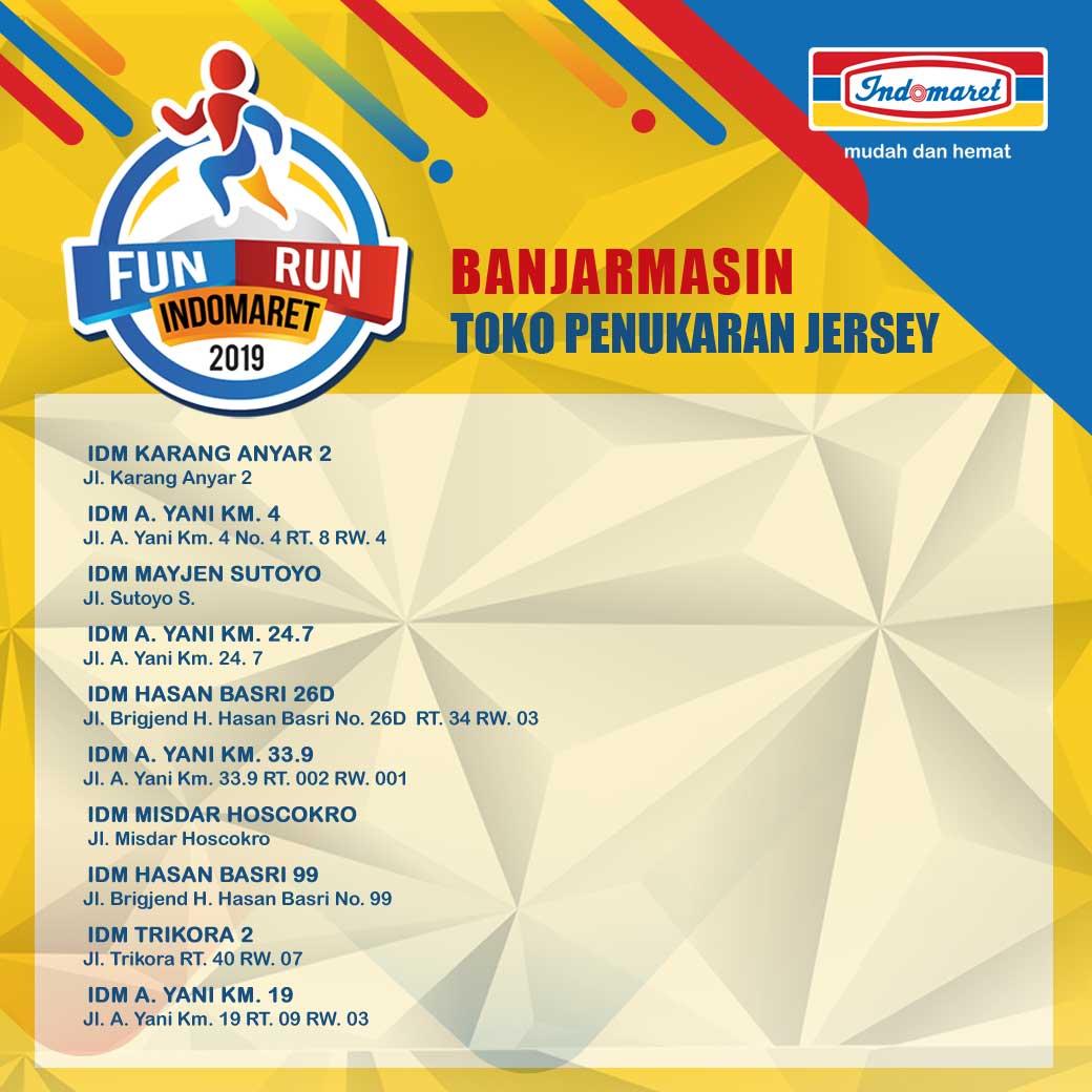 Toko Fun Run Indomaret - Banjarmasin • 2019