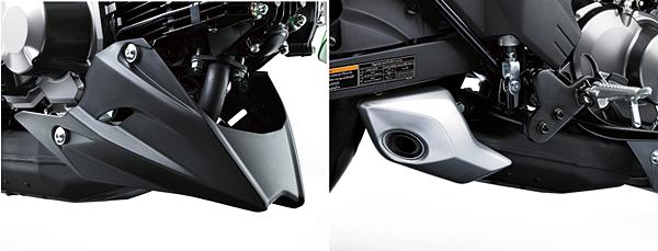 Sharp Under-Cowl - Under Engine Muffler