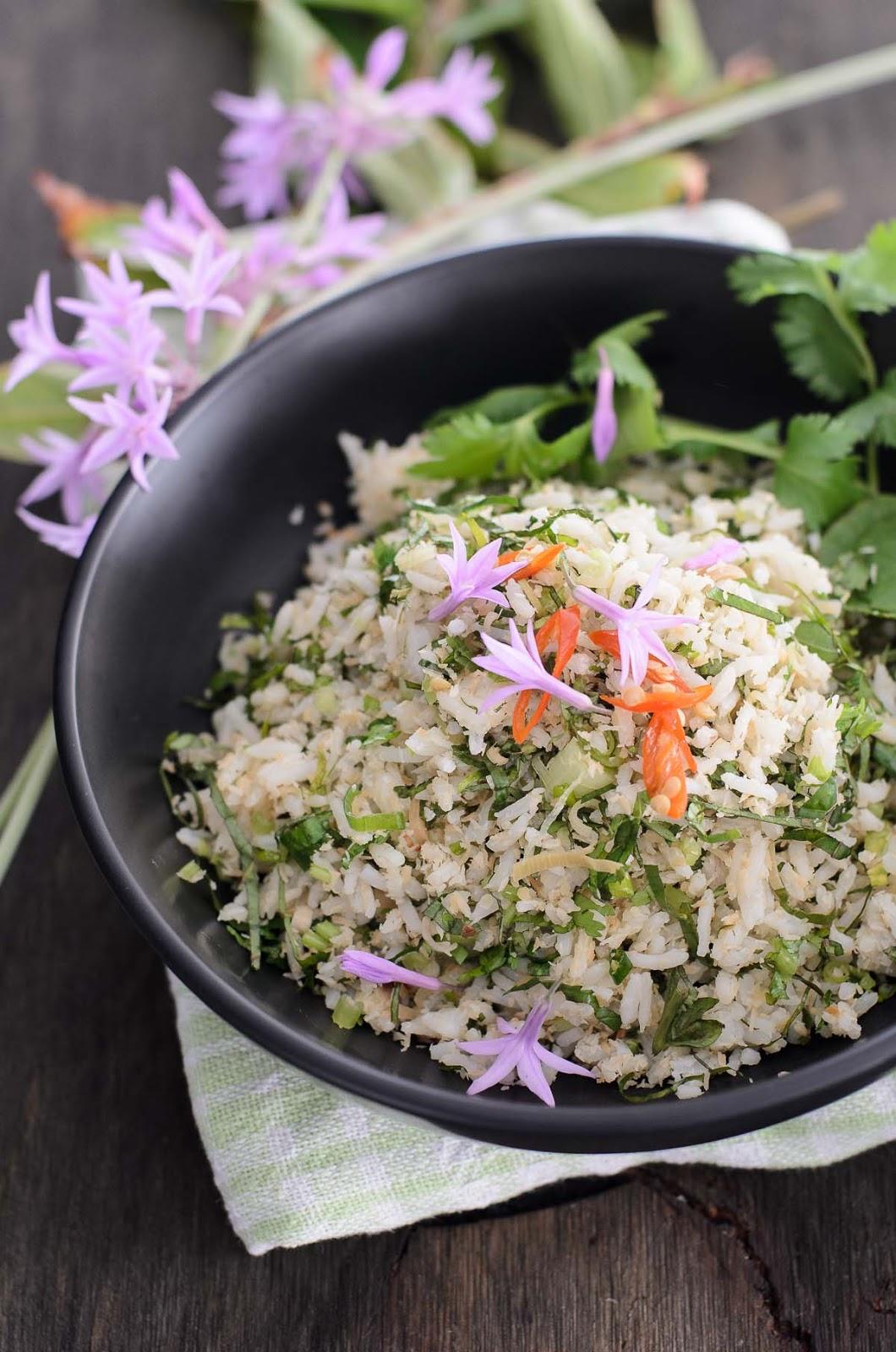 Nasi Ulam recipe