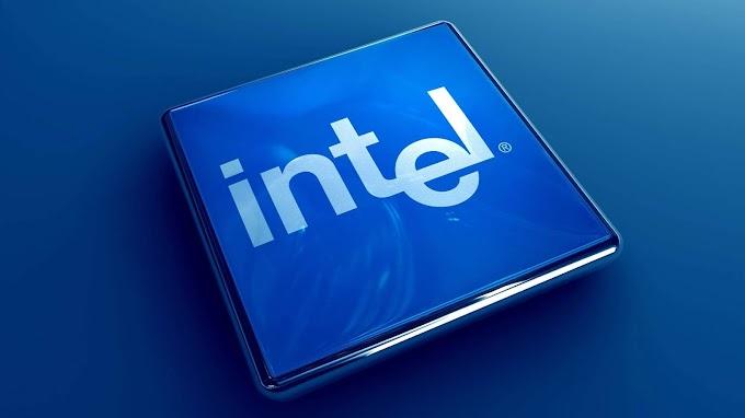 Intel 3D Logo