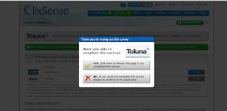 survey 4 clix Tips dan Trik Sukses Cara mengerjakan Survey di Clixsense