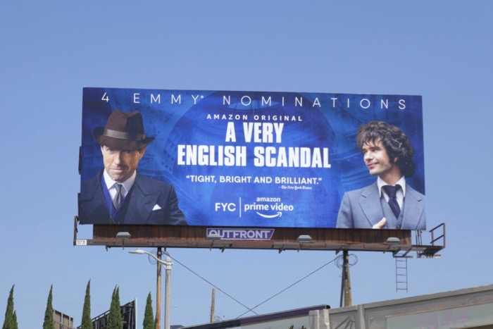 A Very English Scandal Emmy nominee billboard