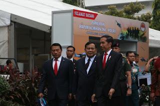 Moeldoko, Prabowo dan Jokowi