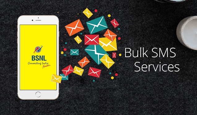 BSNL revised tariff plans for Bulk Push SMS Services for general customers and TRAI exempted sender IDs