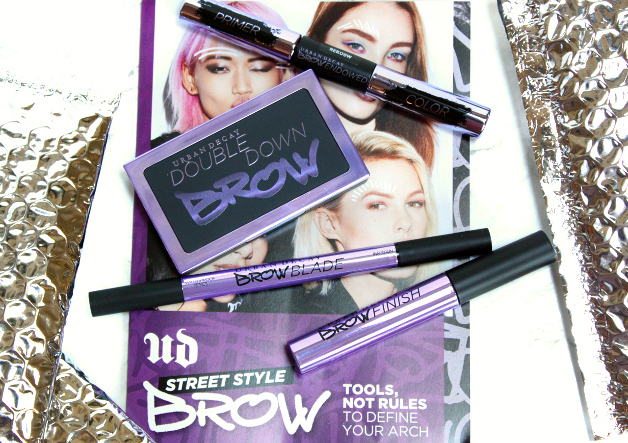 Get the Brows you want with Urban Decay Street Style Brow