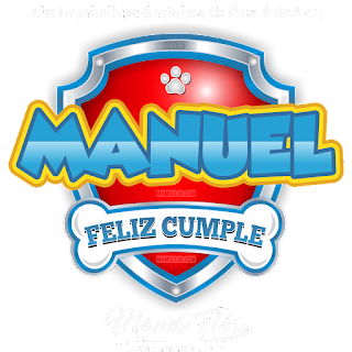Logo de Paw Patrol: MANUEL