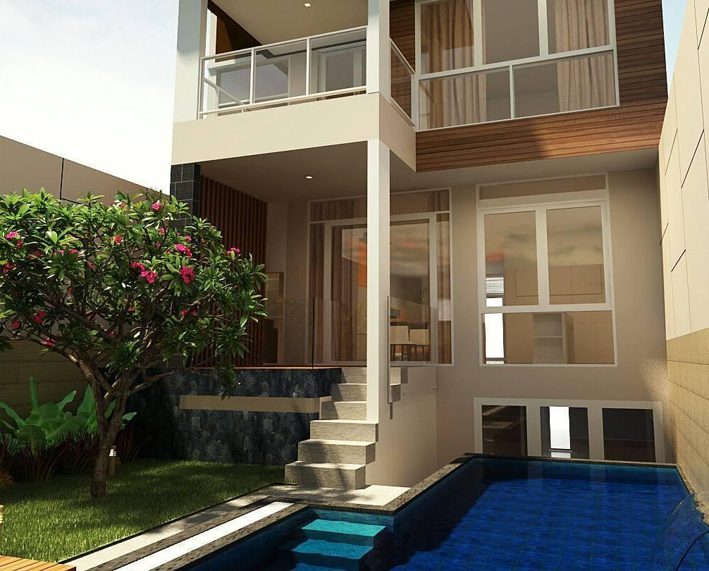 5 Desain Rumah Minimalis Modern 2 Lantai Yang Unik Dan Elegant Homeshabby Com Design Home Plans Home Decorating And Interior Design