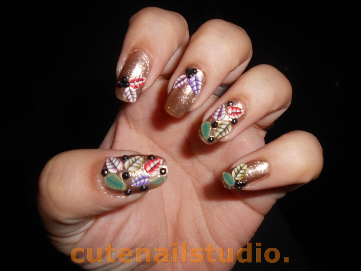 Cute nails: FALL INSPIRED NAIL-ARTS.
