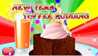 game làm bánh pudding năm mới