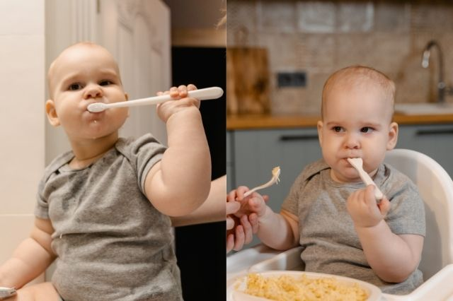 teach-your-baby-to-eat-with-a-spoon-and-fork