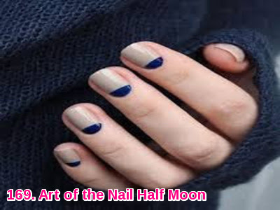 Art of the Nail Half Moon