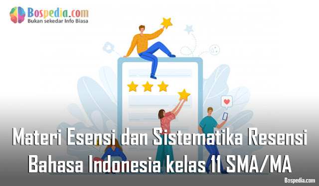 Materi Esensi dan Sistematika Resensi Mapel Bahasa Indonesia kelas 11 SMA/MA