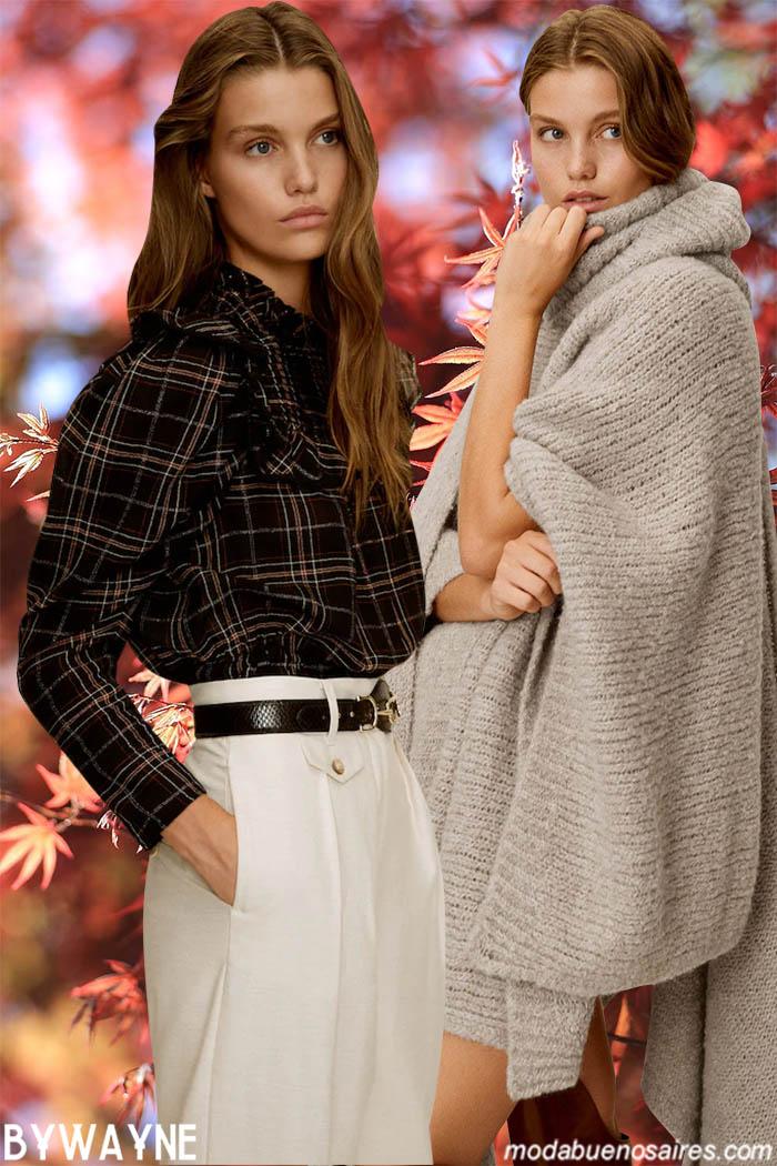 Ropa de moda invierno 2020 mujer.