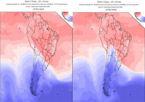 Após abril quente e seco, tempo vira com geada no Sul do país já a partir de 3ª feira