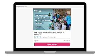 #blubuatbaik sebagai misi Misi Impact Oriented Technology dari blu
