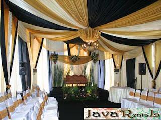 Sewa Tenda Dekorasi VIP - Sewa Tenda VIP Event