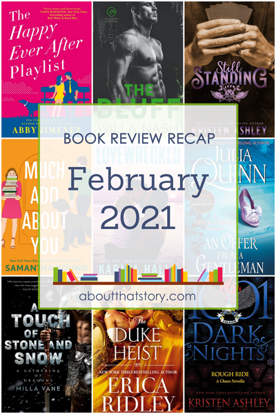 Book Review Recap February 2021 | About That Story