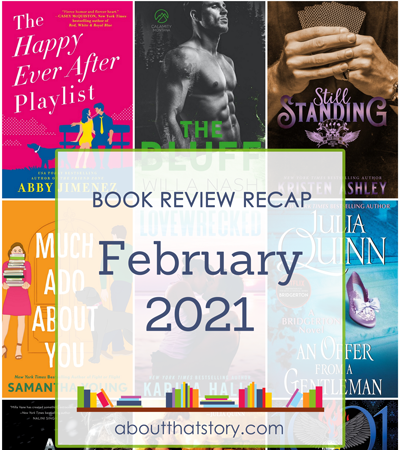 Book Review Recap February 2021