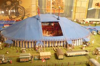 Maqueta del Circo Krone.