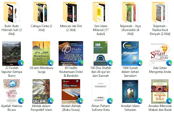 download kumpulan ebook islami bertema akhlak dan tasawuf