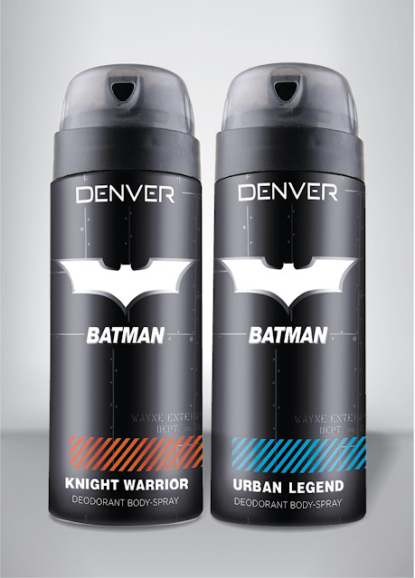 Denver Batman Deodorant - From Man to Hero - Review image
