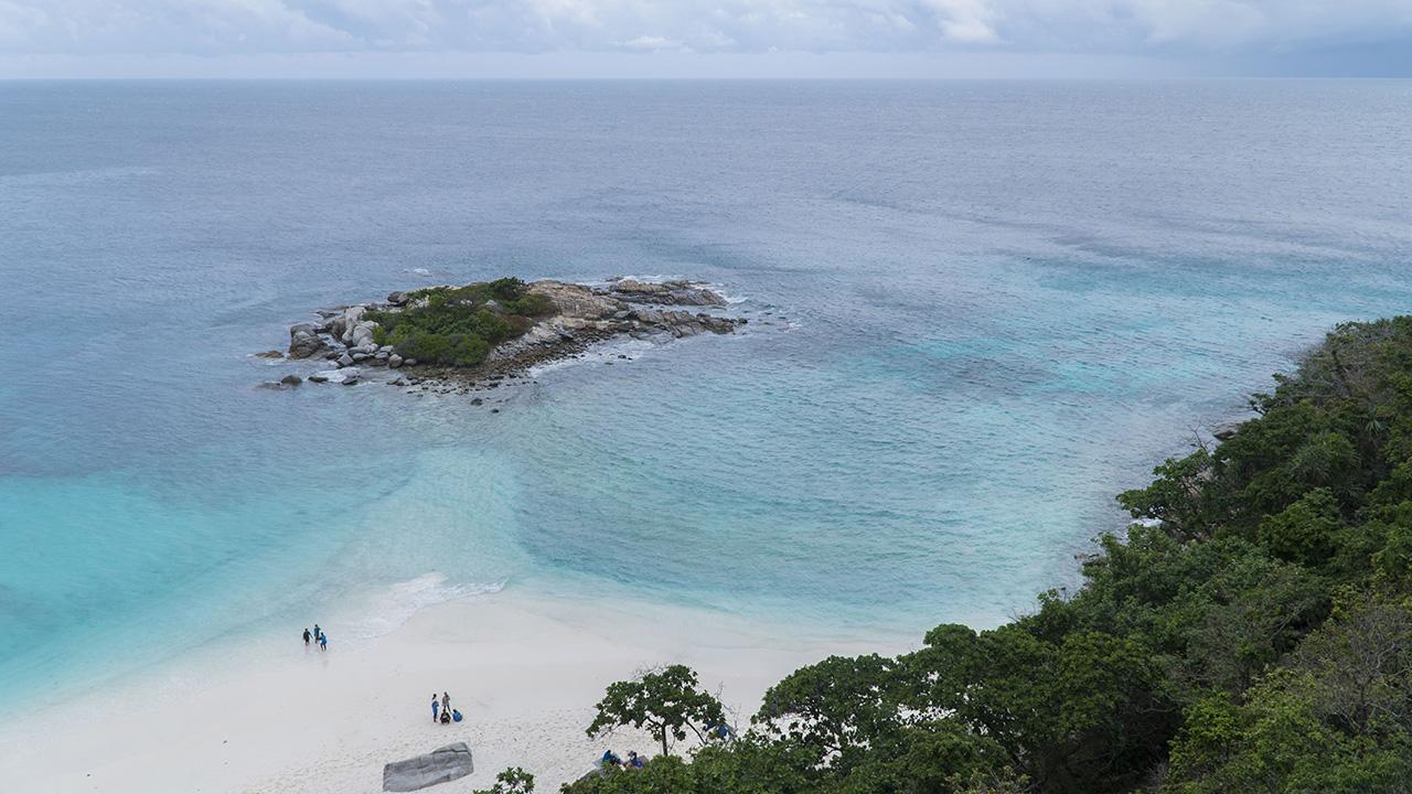 Andaman sea trip from Phuket to Racha Islands