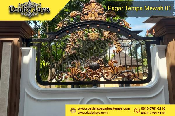 Pagar Besi Tempa Dekoratif Bogor Raya