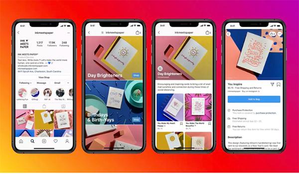 أعلن فيسبوك عن خدمتها الجديدة Facebook shops
