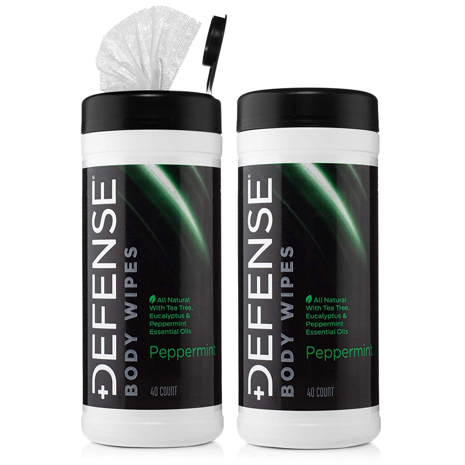 Defense Soap Peppermint Body Wipes