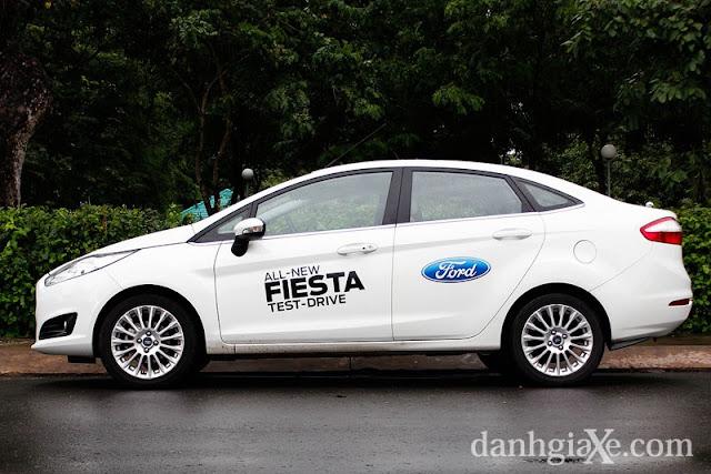 Ford Fiesta EcoBoost  - một ngày cùng trải nghiệm ở Việt Nam