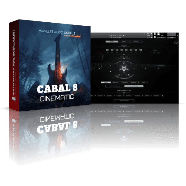 Wavelet Audio Cabal 8 KONTAKT Library