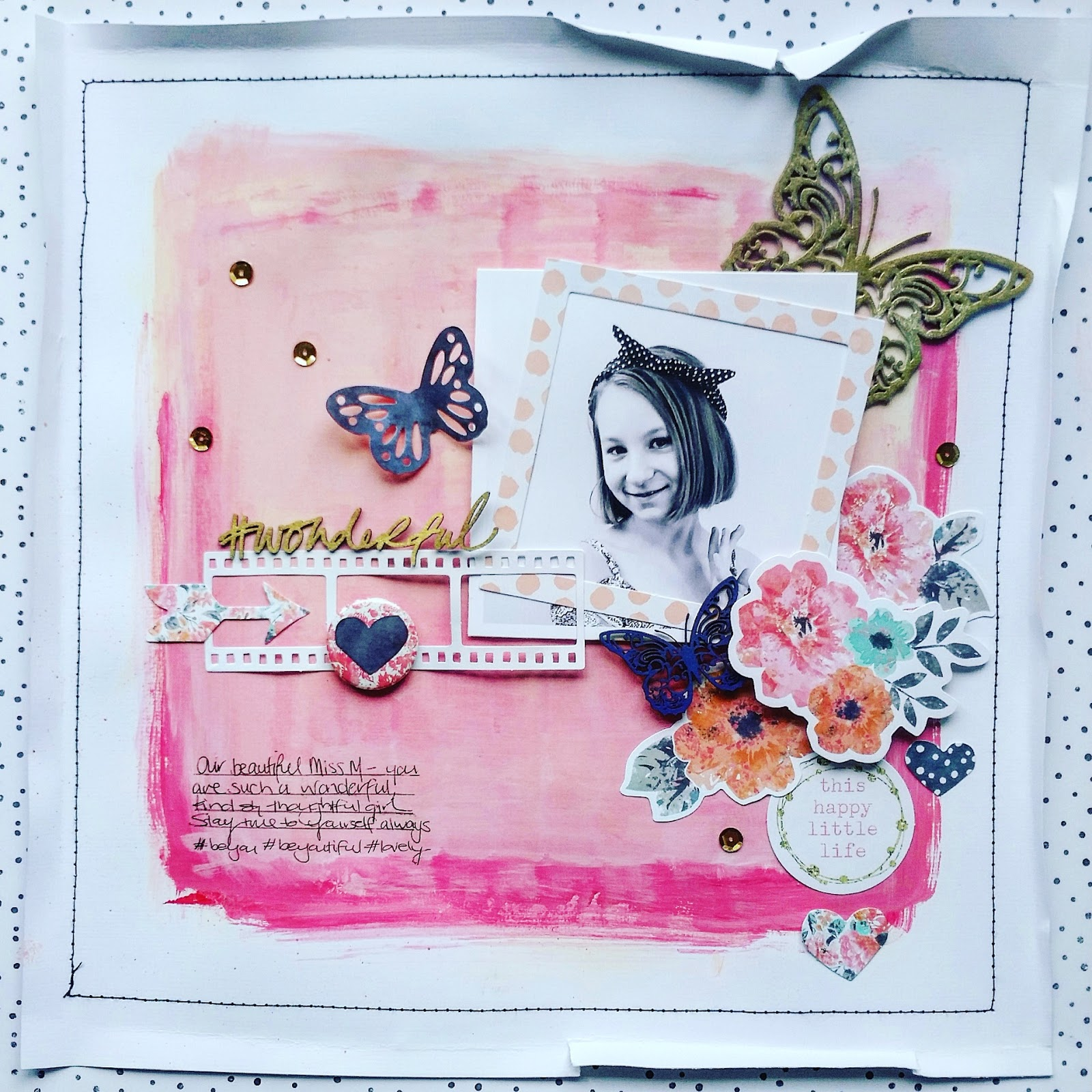 happy arty days imaginarium designs may creations double layouts