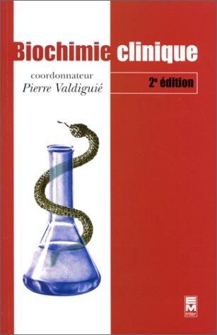 Livre de Biochimie clinique, 2e édition